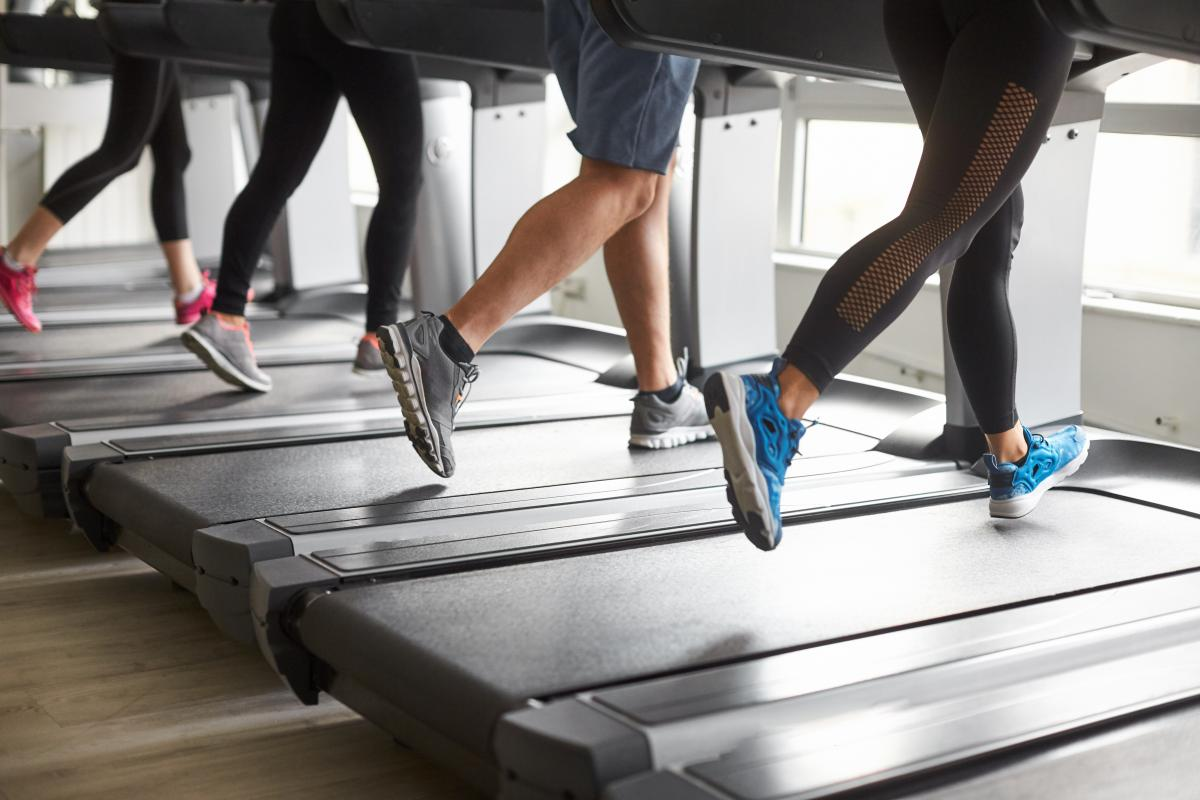 Treadmill - Sports and fitness belts